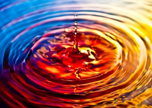 ripple_effect_on_water sunset one